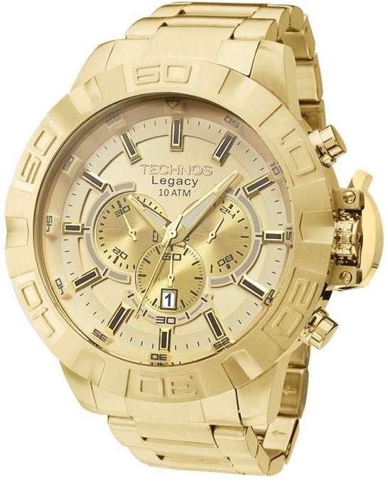 Relógio Technos Cronógrafo Classic Legacy Js25ba 4x - R  859,00 ... 12eca890c4