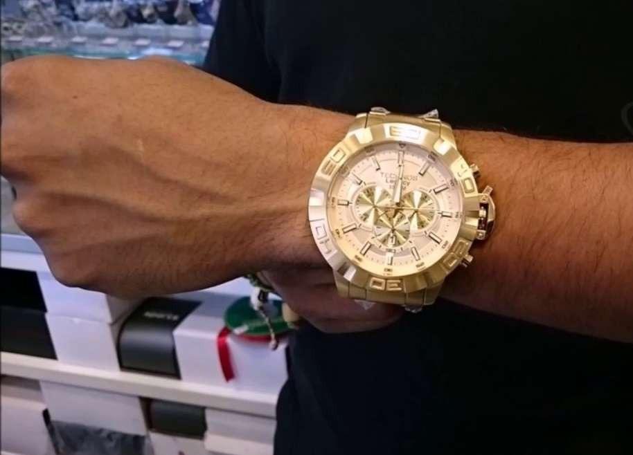 Relógio Technos Cronógrafo Classic Legacy Js25ba 4x - R  859,00 em ... a7b0fa949f
