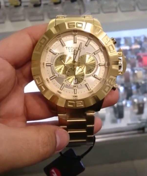 Relógio Technos Cronógrafo Classic Legacy Js25ba 4x - R  859,00 em ... b81def1674
