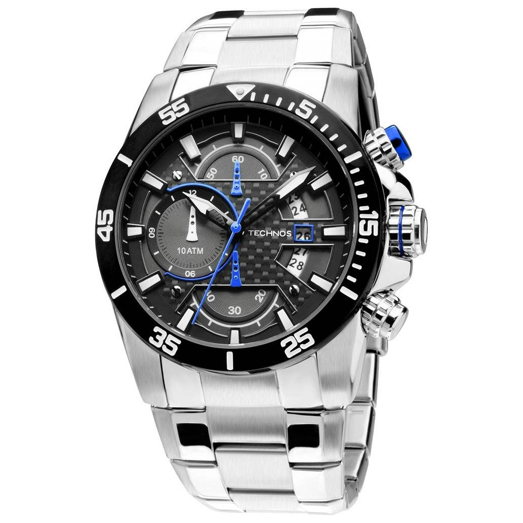 relógio technos cronógrafo performance ts carbon os10er 1a. Carregando zoom. 414c149c26