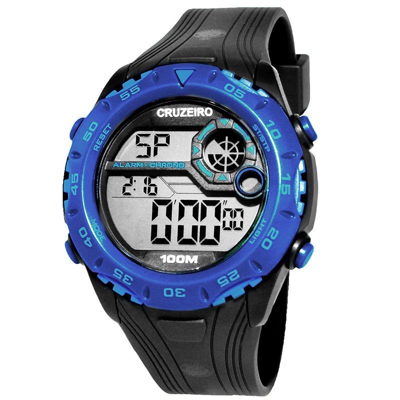 44863b0914b relógio technos cruzeiro marinho e azul. Carregando zoom.
