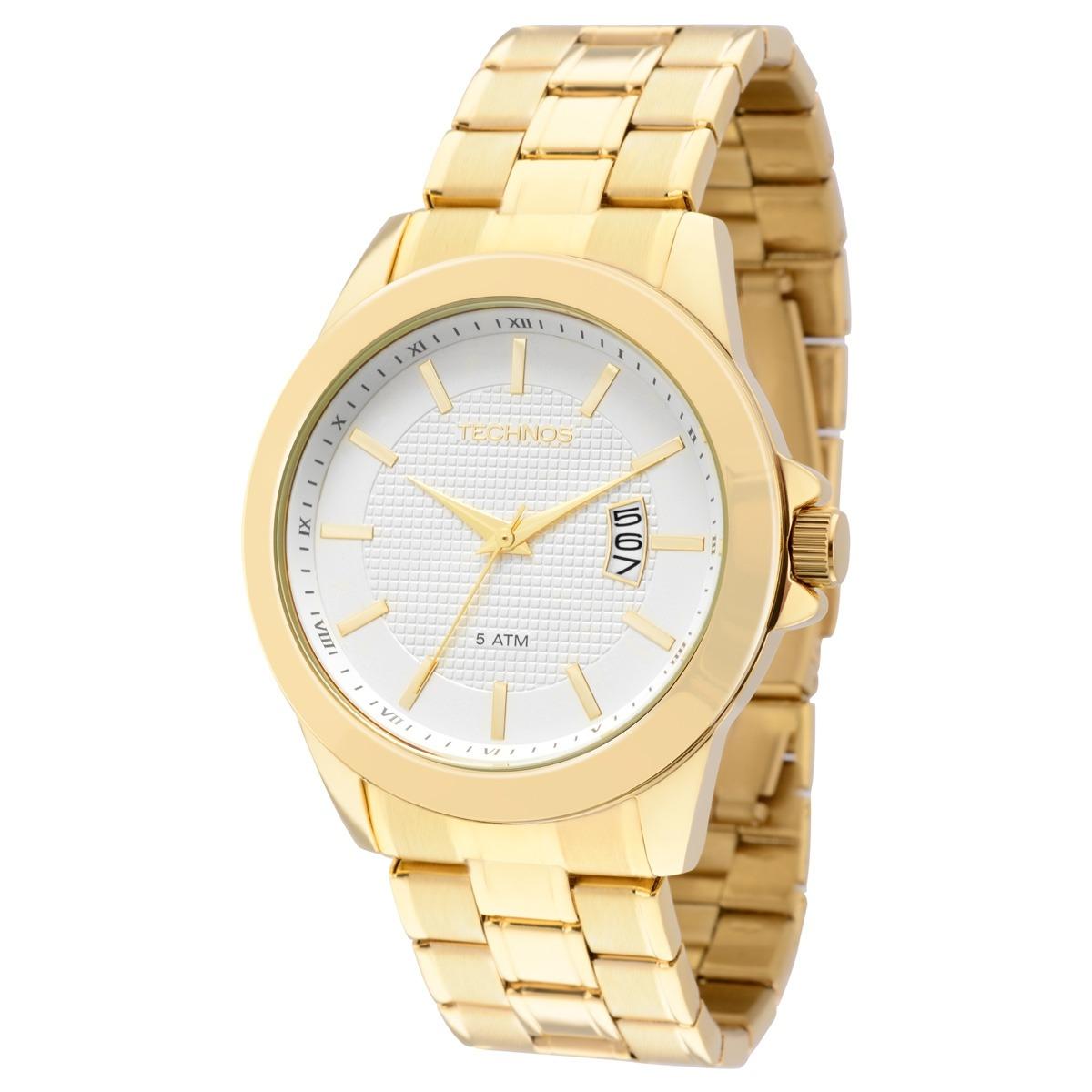 Características. Marca Technos  Linha Classic  Modelo 2115KNN 4K  Gênero  Masculino  Material da correia do relógio ... a164b01f7c
