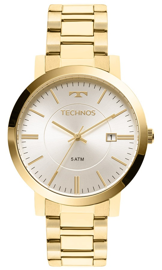 8e292cac89b relógio technos dourado feminino elegance dress 2115kzx 4k. Carregando zoom.