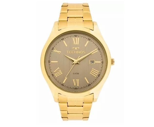 01da82e2cce Relógio Technos Dourado Feminino Elegance Dress 2115mgm 4c - R  289 ...