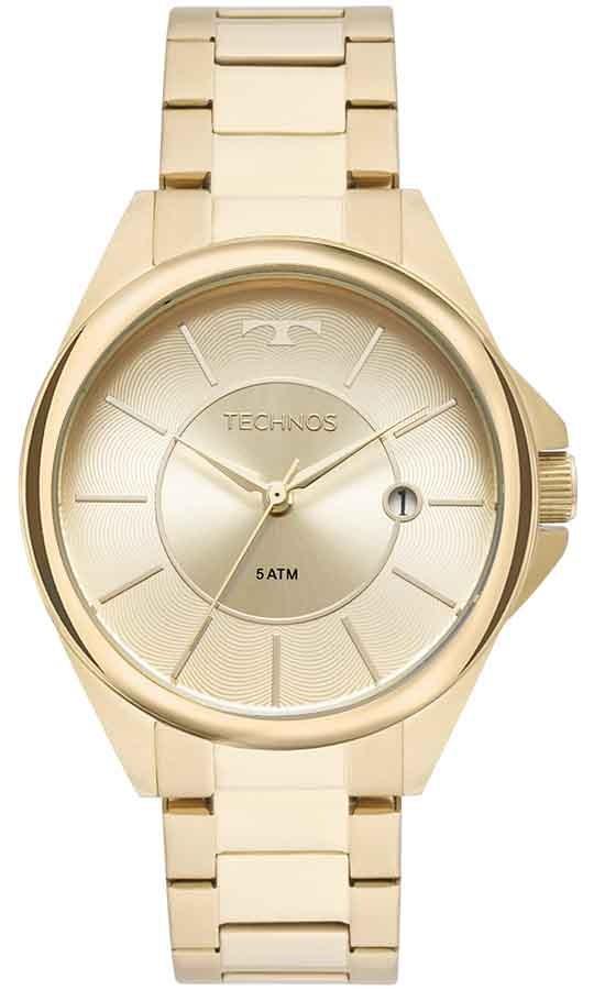 985ac4cafcf relógio technos dourado feminino elegance dress 2115moo 4x. Carregando zoom.