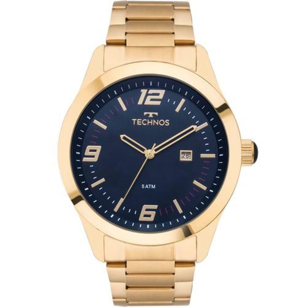 915f960c71cc6 relógio technos dourado original + nota 2115mnz 4a garantia. Carregando  zoom.