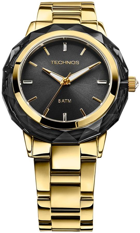 d7343e29f8dd3 relógio technos elegance crystal swarovski 2035mcm 4p. Carregando zoom.