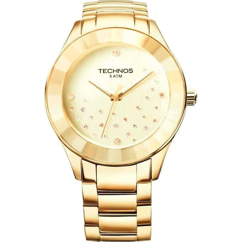 f556bceea4d98 relógio technos elegance crystal swarovski 2036llp 4x. Carregando zoom.