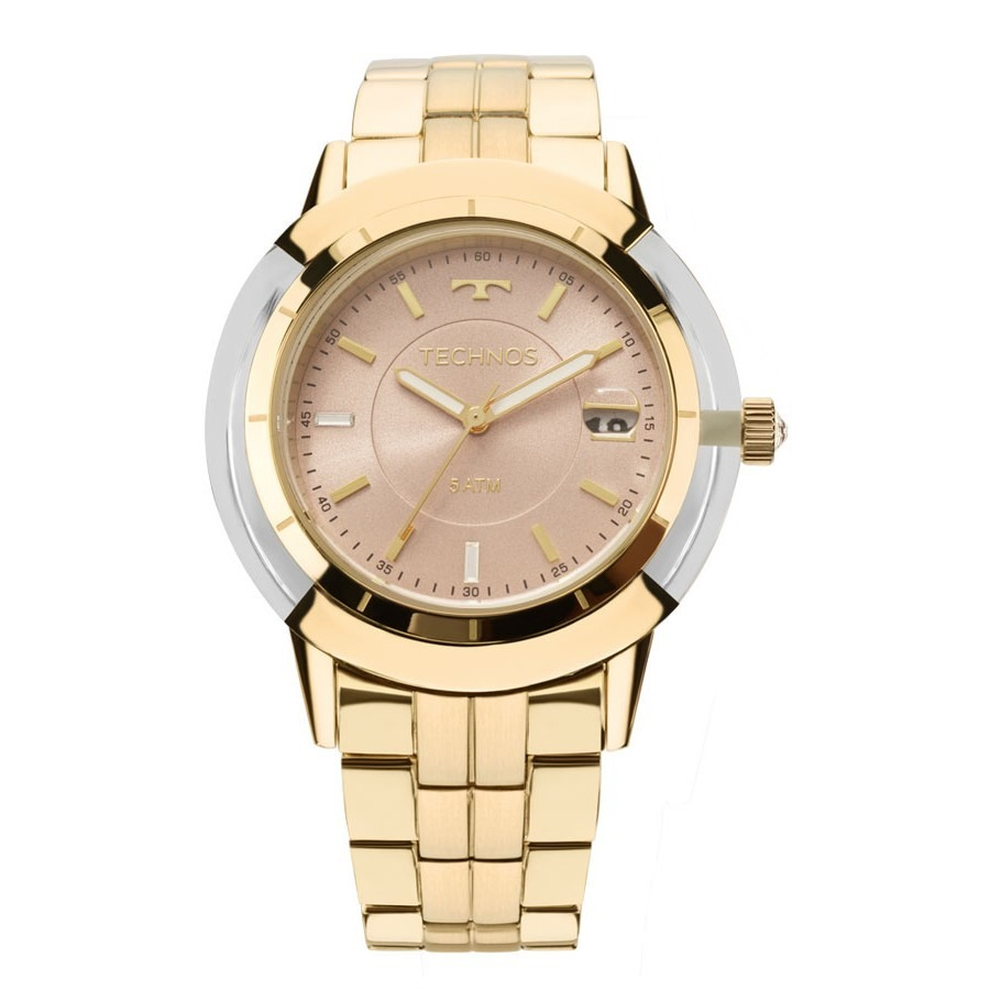 b2c95c99f2cf4 Relógio Technos Elegance Crystal Swarovski Feminino 2317ab4t - R  549