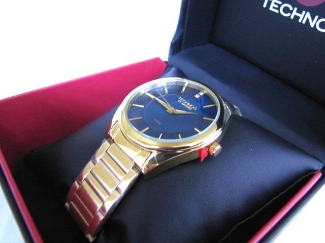 18d1a59947f Relógio Technos Elegance Dourado St.moritz 2036lou 4a - R  259