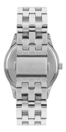 relógio technos elegance dress feminino prata 2035mpn/1k