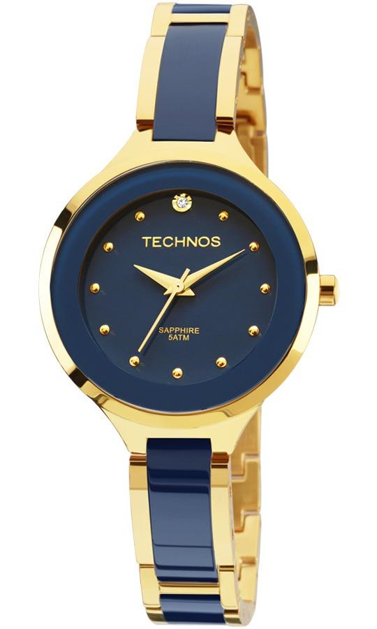 247e760fb7a85 relógio technos elegance feminino cerâmica 2035lyv 4a. Carregando zoom.