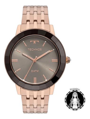 relógio technos elegance - vh31aaa/4p c/ nf e garantia u