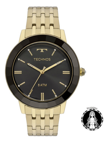 relógio technos elegance - vh31aab/4p c/ nf e garantia u