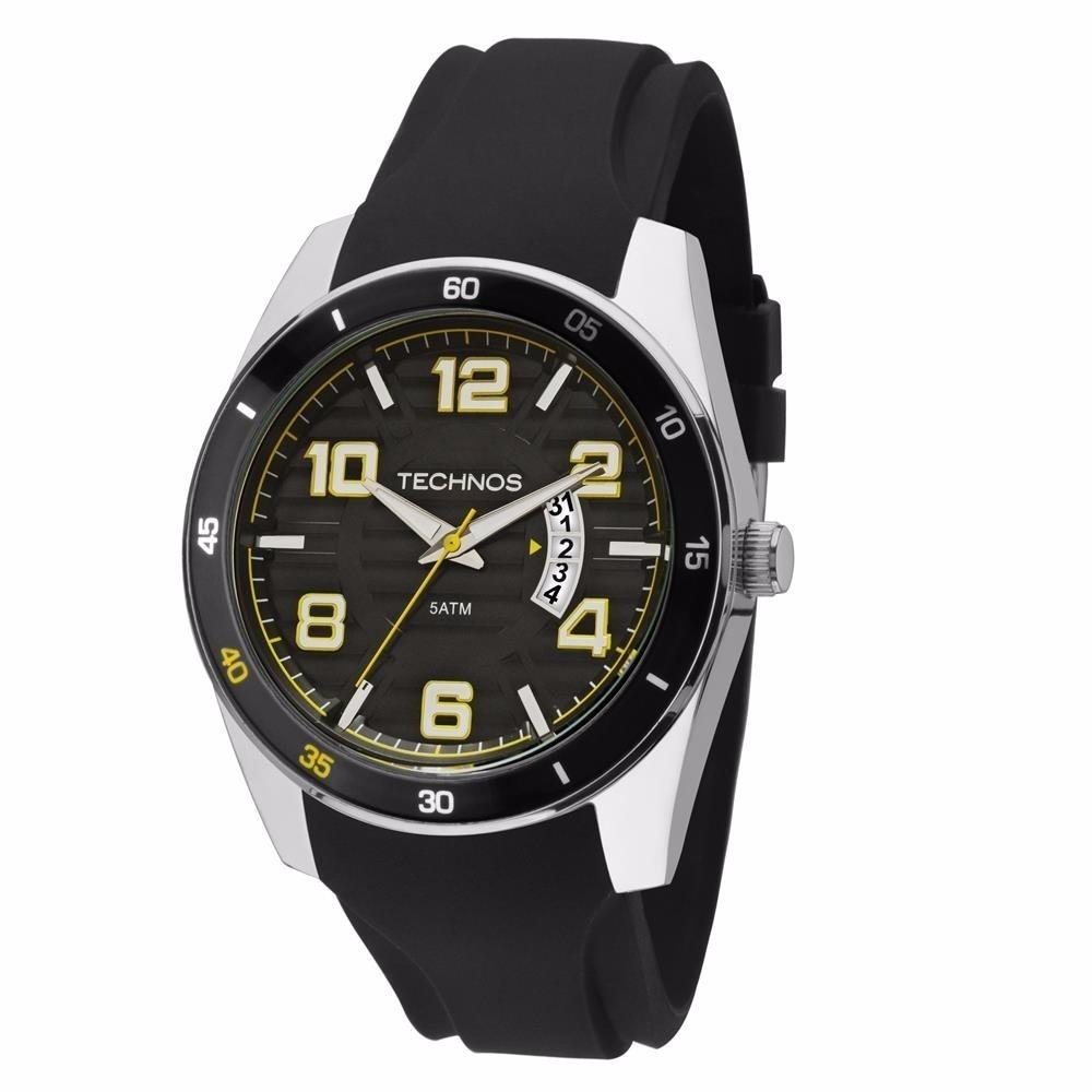 relógio technos esporte-fino analógico calendário quartz. Carregando zoom. bc1f436df6