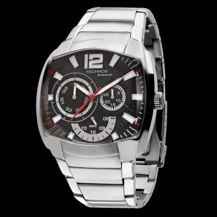 1e8db108720 Relógio Technos Esportivo De Aço Masculino Prata 6p29ahh 1p - R ...
