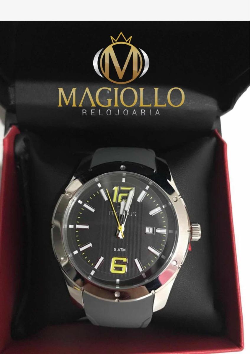 42e3aedbf6fe2 relógio technos espotivo pulseira de borracha 2115mln 8p. Carregando zoom.