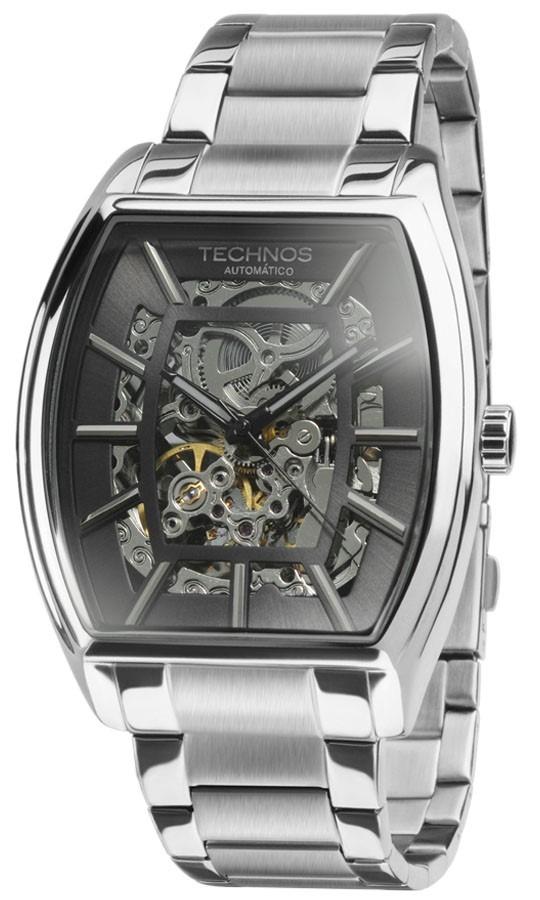 Relógio Technos Esqueleto Automatic Mw6807 1c - R  799,99 em Mercado ... 3cb1f61606