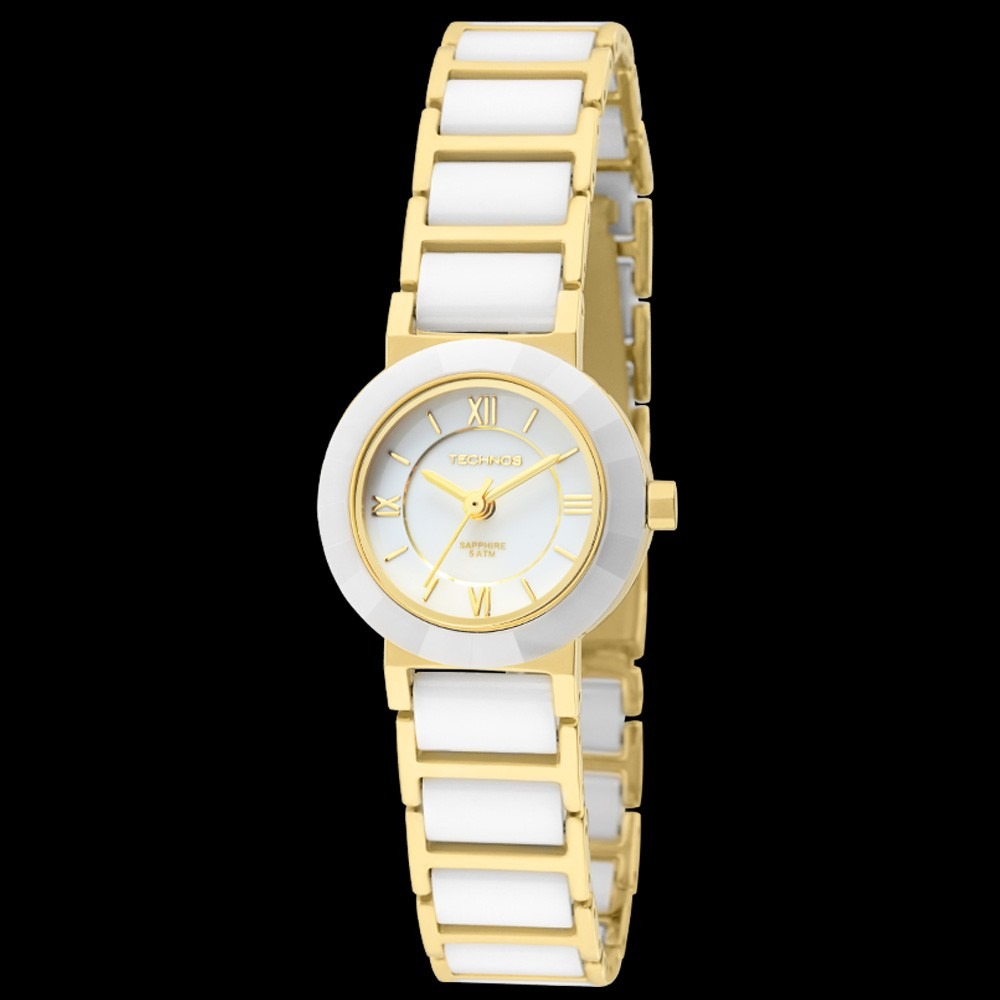 216339bc49ae6 relógio technos fem branco ceramic sapphire mini 2035lwe 4b · relógio  technos fem mini. Carregando zoom.