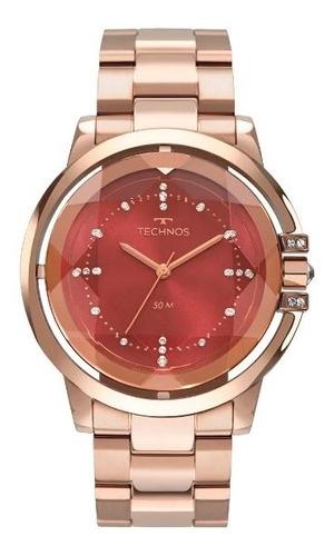 relógio technos feminino 2036mln/4r