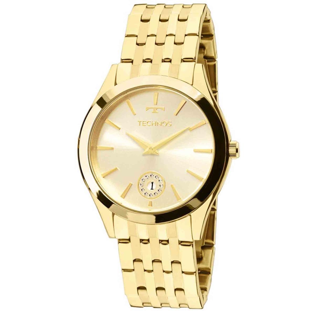 Relógio Technos Eleance Ladies Feminino Analógico 1m15aq 4x - R  443 ... f3ab4cc9a9