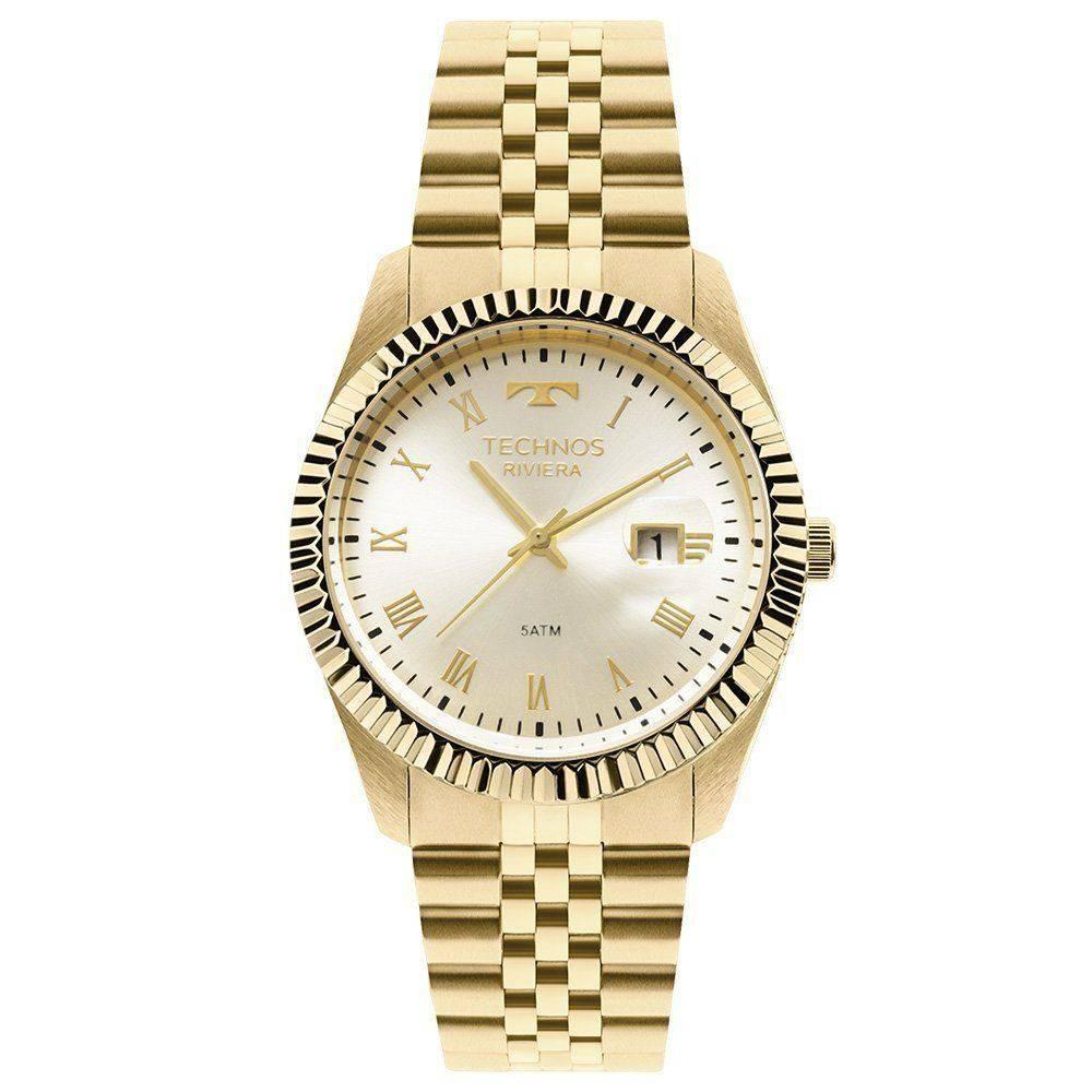 132248db21c56 Relógio Technos Feminino Riviera 2035lzl 4p - R  539