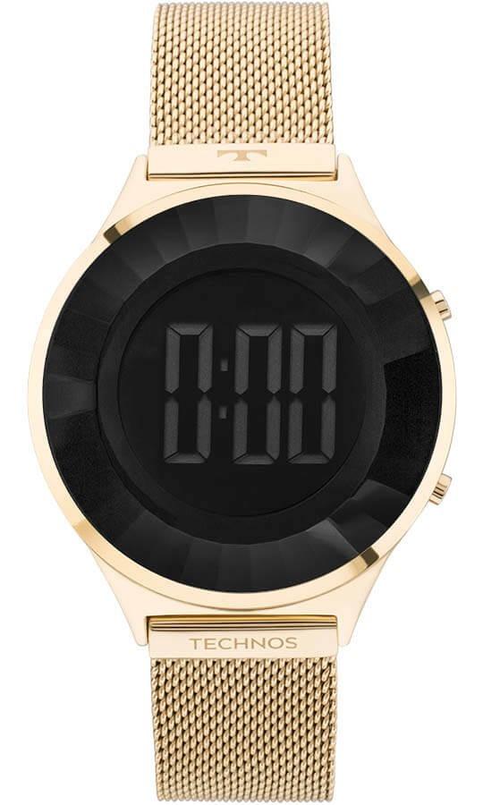 07b1cb45c4638 Relógio Technos Feminino Crystal Bj3572aa 4p Digital - R  483,55 em ...