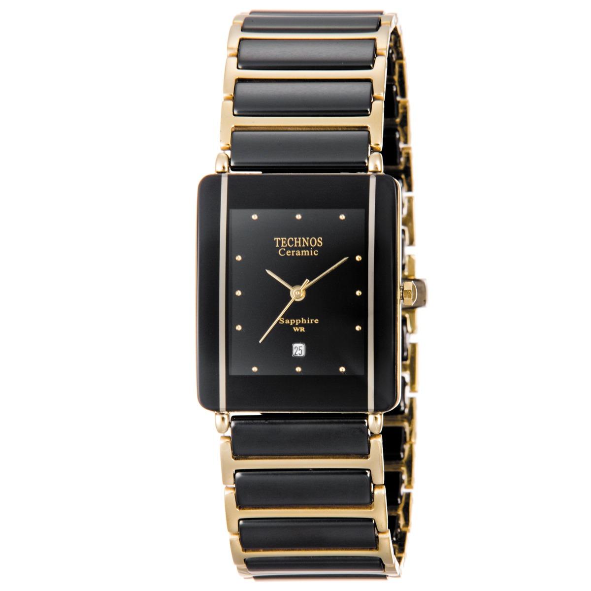 Relógio Technos Elegance Ceramic Feminino Gn10aapai 4p - R  697,00 ... a83fb1d02d