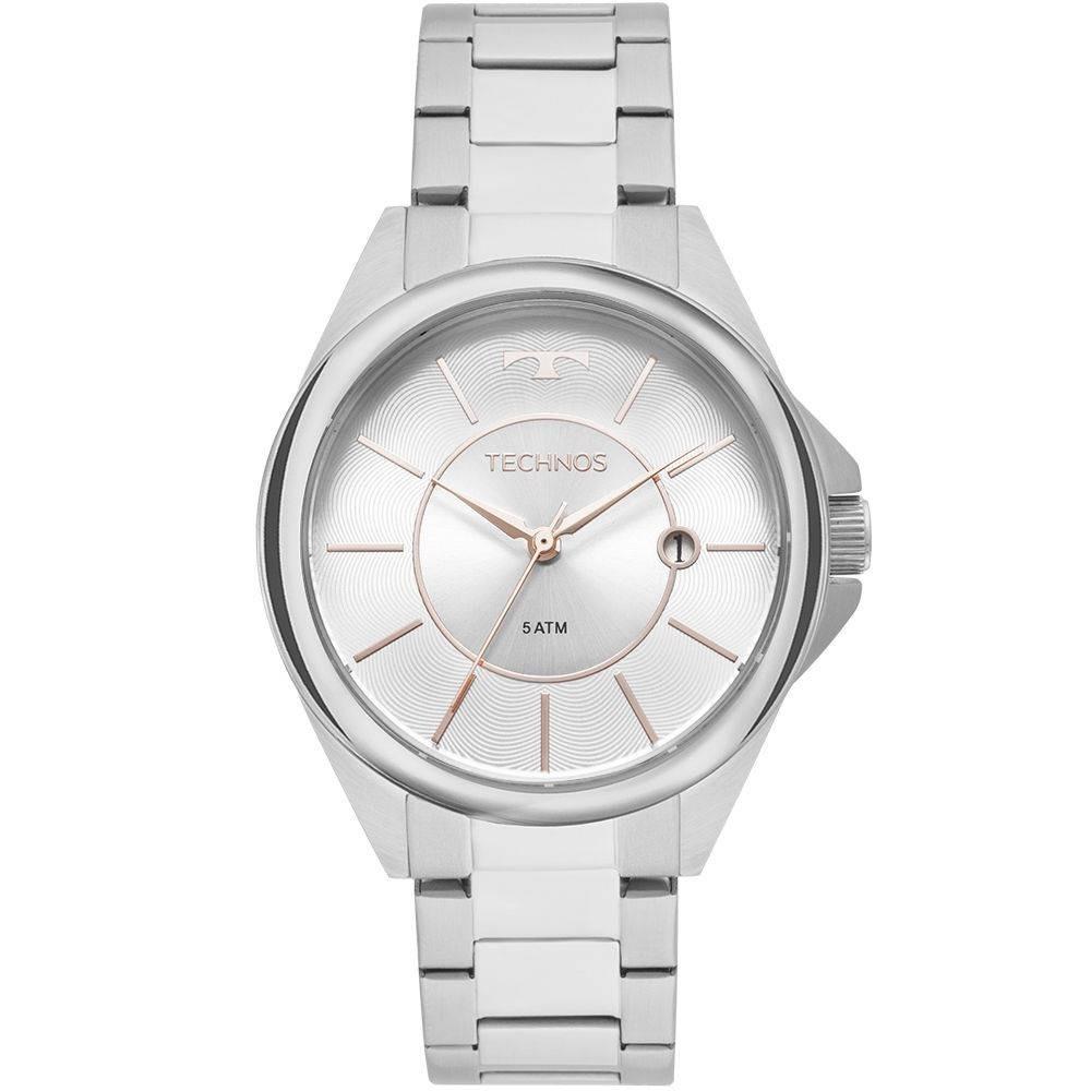 8684a0e98db06 Relógio Technos Feminino Elegance Dress Prata - 2115moq 1b - R  459 ...