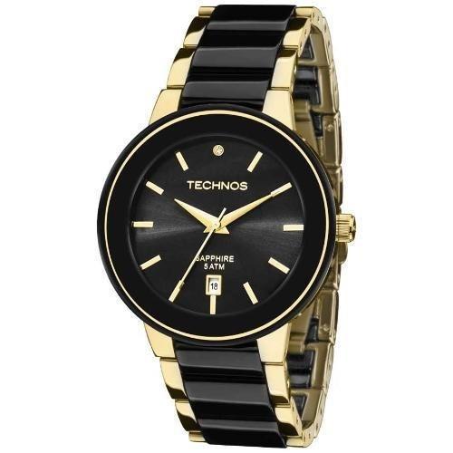 2c921ba5dd78f Relógio Technos Feminino Elegance Ceramic sapphire Analógico - R  599