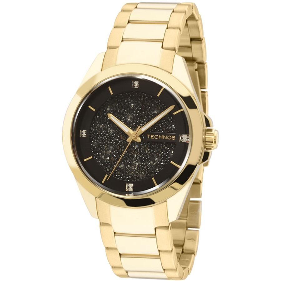 4927ecb3f495d Carregando zoom... technos feminino relógio · relógio technos feminino  crystal swarovski 203aaa 4p c  nfe