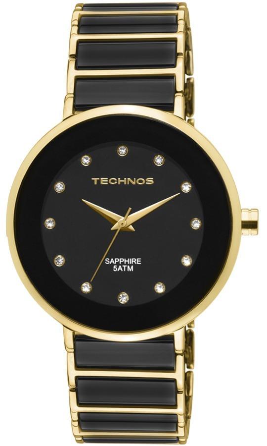 Relógio Technos Feminino Ceramic sapphire 2035lmm 4p - R  772,15 em ... 1b5d57768a