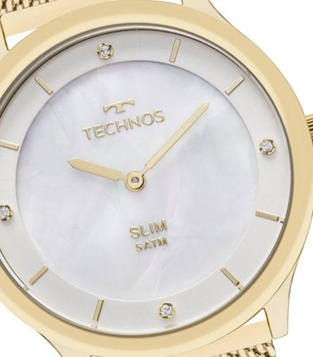 Relógio Technos Feminino Classic Slim Gl20hh 1b - R  462,11 em ... 04d18a9c01