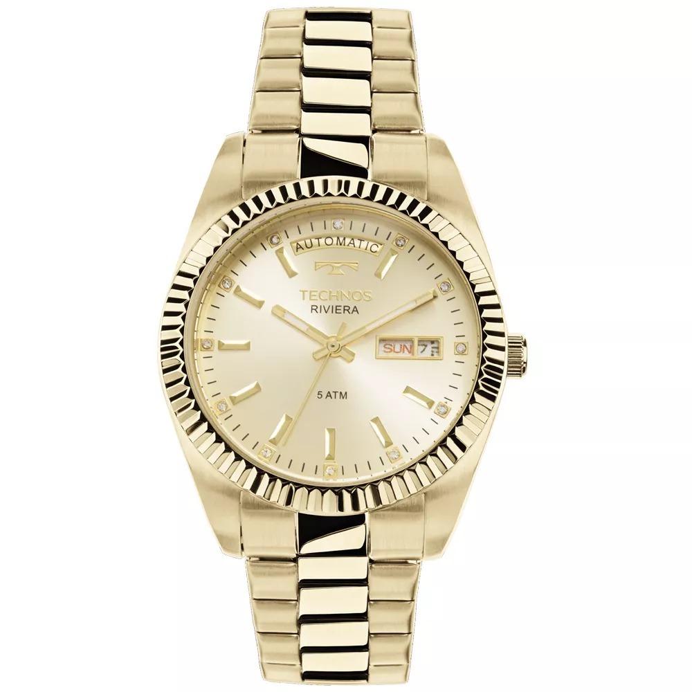Relógio Technos Feminino Riviera Automático 8205oa 4x - R  753,45 em ... 62e23ed4c9