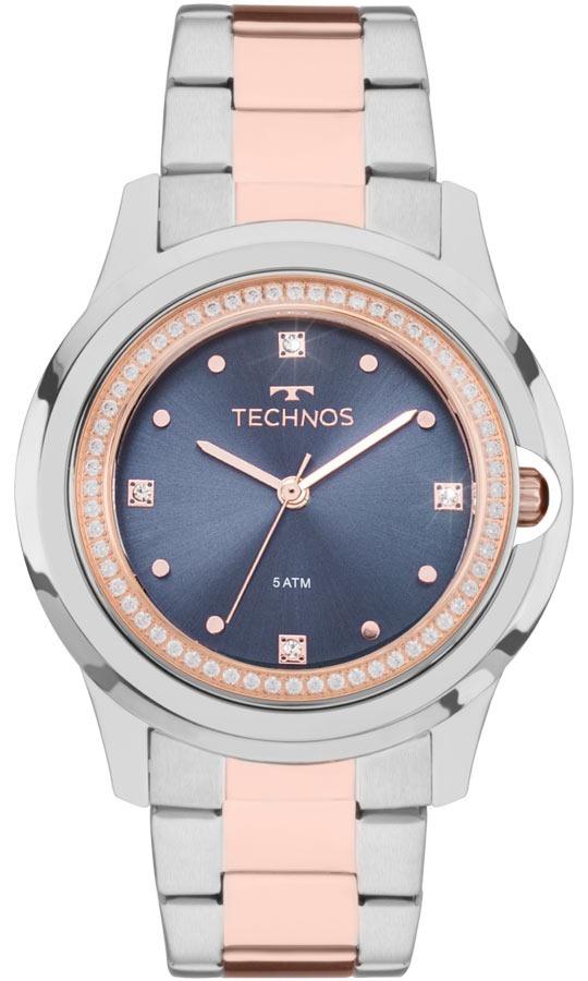 0c28a11c984bc Relógio Technos Feminino Crystal Swarovski 2035mli 5a - R  484,00 em ...