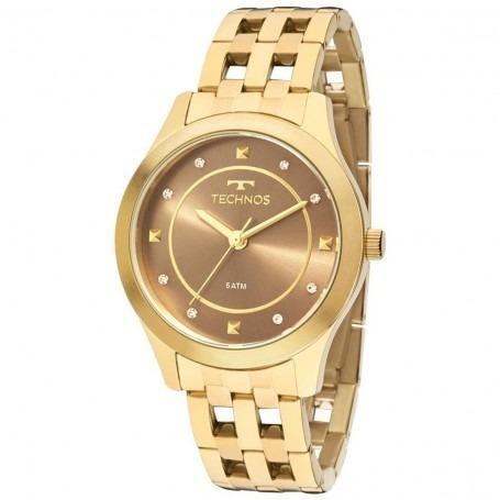 Relógio Technos Feminino St. Moritz Analógico 2036mfb 4m - R  406,65 em  Mercado Livre 9de6649ba9