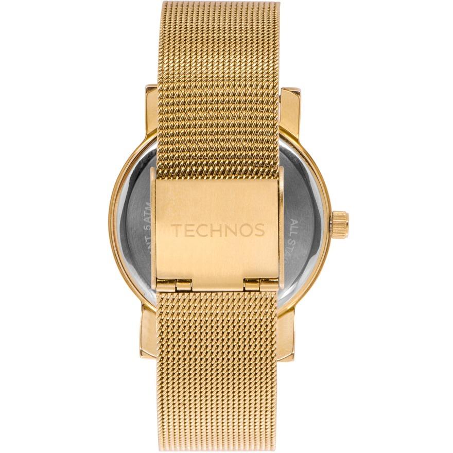 81e25f8c89b Relógio Technos Feminino Elegance Dourado Nfe 2035mlp 4n - R  175