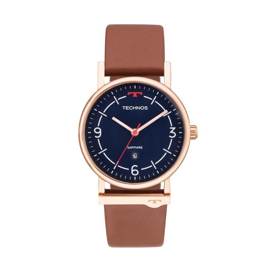 Relógio Technos Feminino Ref  9t13aa 2a Slim Rosé - R  414,90 em ... e4def55df5