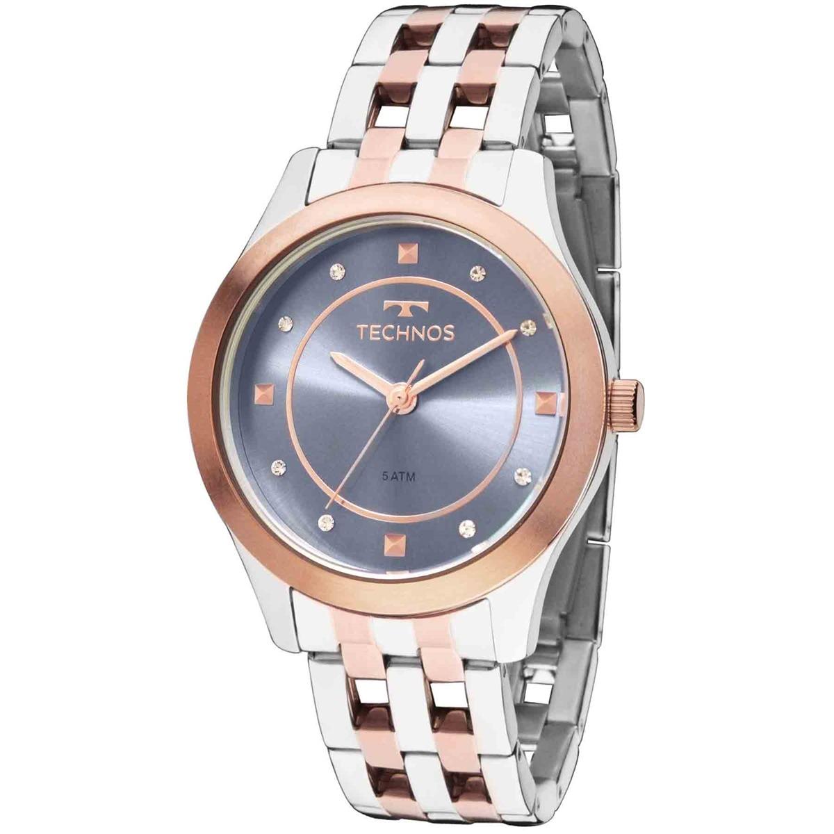 Relógio Technos Eleance Dress Feminino Analógico 2036mfd 5a - R  321 ... 54b6ad90c4