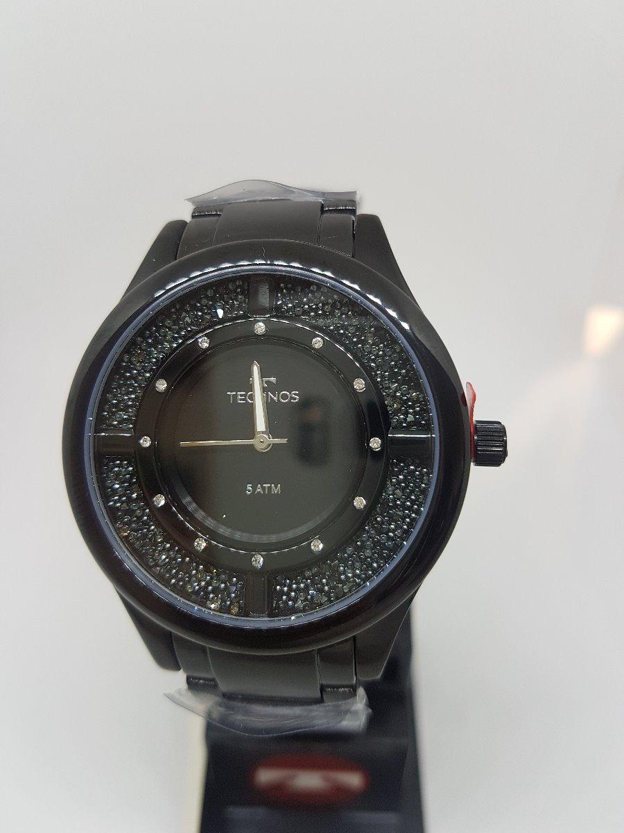 ac0ed162c1933 Relógio Technos Feminino Elegance Crystal Preto Gl30fm 4p - R  489 ...