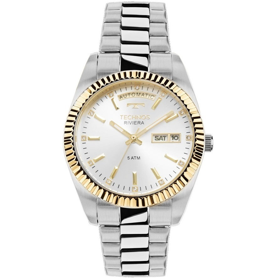 relógio technos feminino automático riviera 8205ob 1k c  nfe. Carregando  zoom. 282db816ab