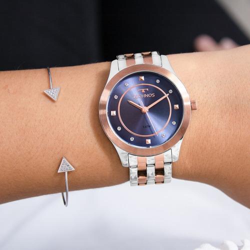 relógio technos feminino barato garantia original nfe