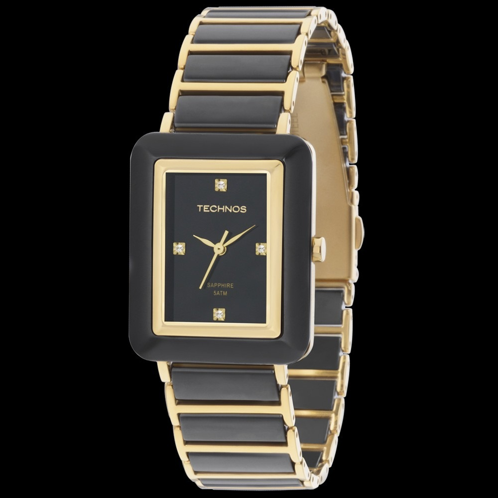 caae231a98c5b Relógio Technos Feminino Ceramic 2036lng 1 Original