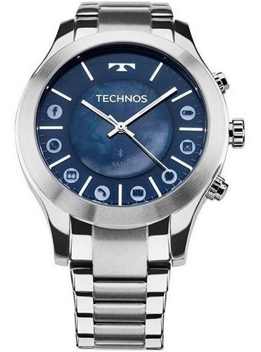 relógio technos feminino connect bluetooth 753af/1a