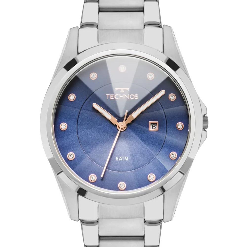 6f3e7059033 relógio technos feminino cristais swarovski gn10at 1a - nf. Carregando zoom.