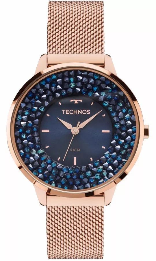 Relógio Technos Feminino Cristal Rose - 2035mle 4a - R  479,00 em ... 44ba2a4f4d