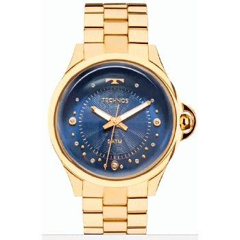 relógio technos feminino crystal 2039bm/4a