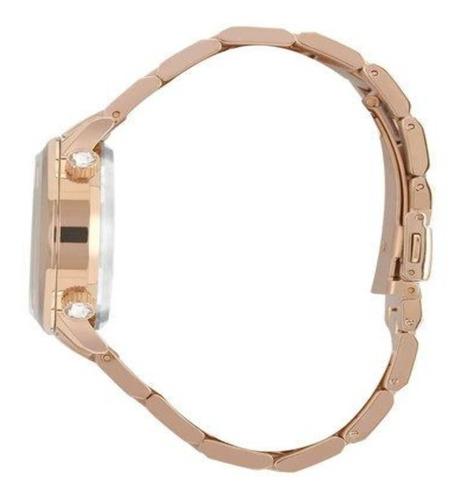 relógio technos feminino crystal rocks 2039bv/4m original nf