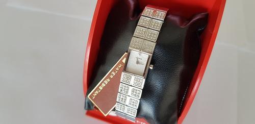 relógio technos feminino detalhes pulseira zircônias! lindo!