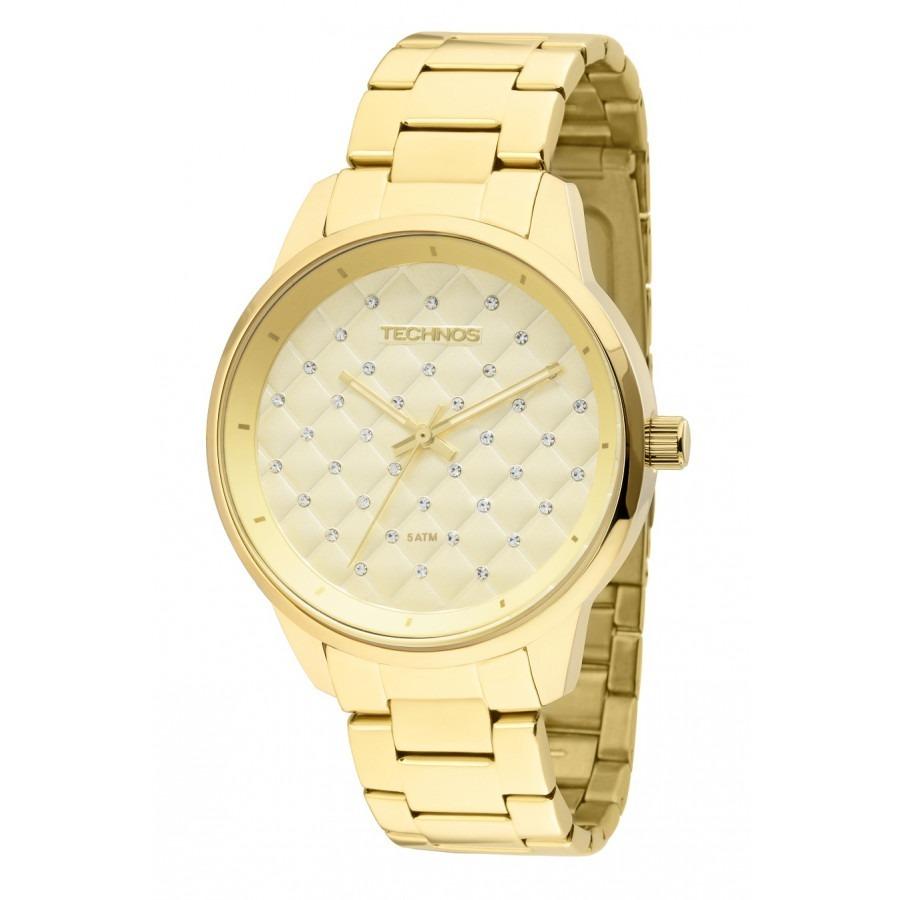 0950b426c1a relógio technos feminino dourado análogo 2035lxu 4d original. Carregando  zoom.
